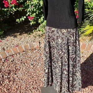 Jones of New York Long Maxi Skirt